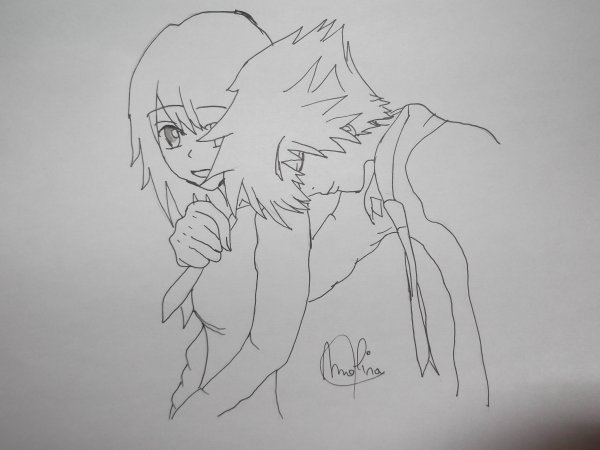 Kairi et Sora