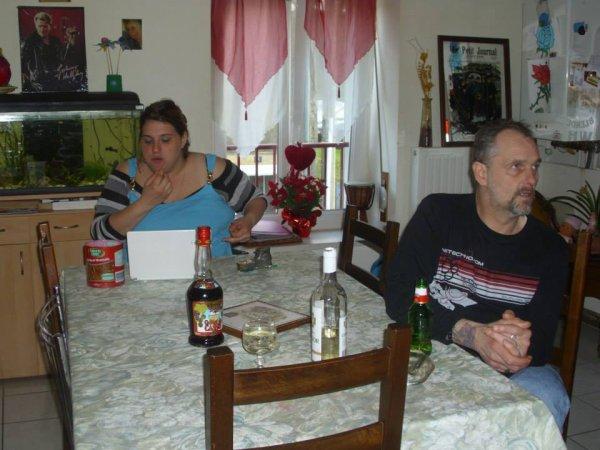 samedi 1er juin  tonton michael et  tata joelle  son venu a la maison cool