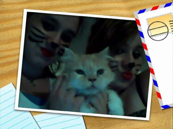 mes soeur et mwa et notre chat
