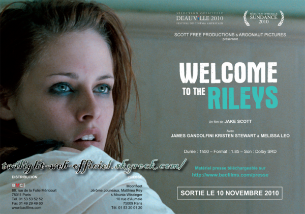 •Dossier de presse Welcome to the Rileys