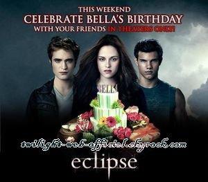 •Tous les bonus des DVD et Blu-Ray US d'Eclipse + Autres sorties le 4 décembre