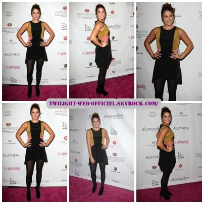 Nikki s'est rendue à la 6th Annual Pink Party au Drai's Hotel à Hollywood.