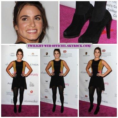 Nikki s'est rendue à la 6th Annual Pink Party au Drai's Hotel à Hollywood.