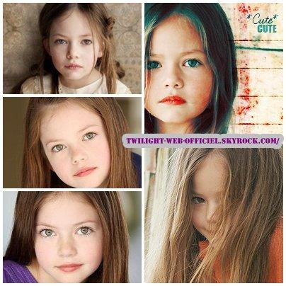 Mackenzie Foy : nouvelle prétendante pour jouer Renesmée  Breaking Dawn : Maggie Grace incarnera Irina