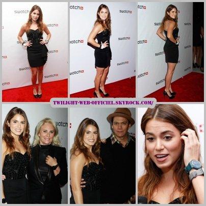 Nikki et les montres « Swatch » …