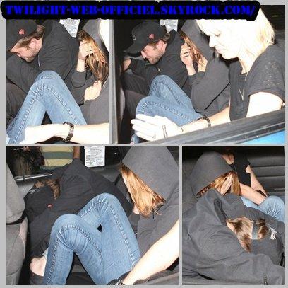 Robert & Kristen hier à Beverly Hills