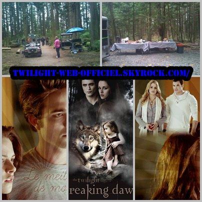 Les premières images de Breaking Dawn  et nouvelle photos de Mackenzie Foy dans le rôle de Renesmée et kristen nikki et asley