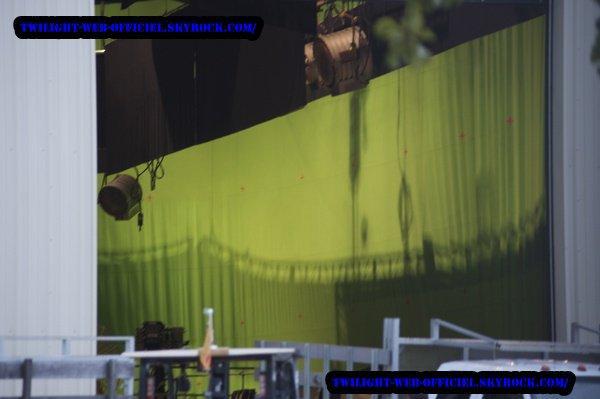 Breaking Dawn : la maison des Cullen en pleine construction  Breaking Dawn : les plannings de tournage se précisent...