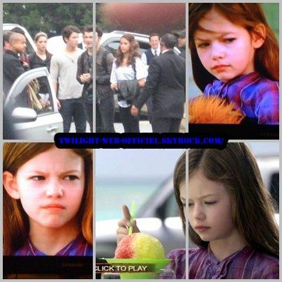 photos de la petite fille de edward et bella et kristen asley et rob et création