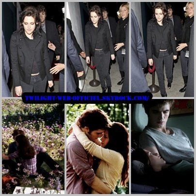 kristen et photos eclipse