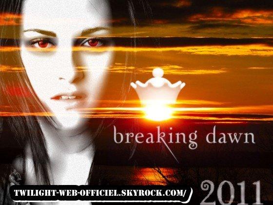 photos de rob et créa de Breaking Dawn