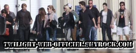 Le tournage à Bâton Rouge se poursuit pour les Cullen  et photos d asley