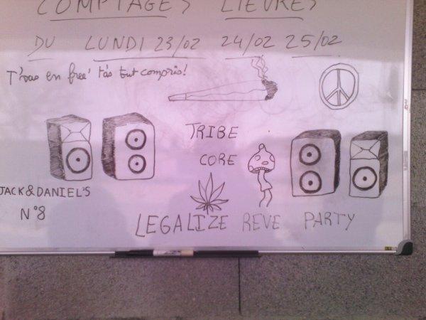 Légalisez les free party!!!