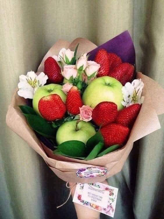 mélange fruit et fleure j adore