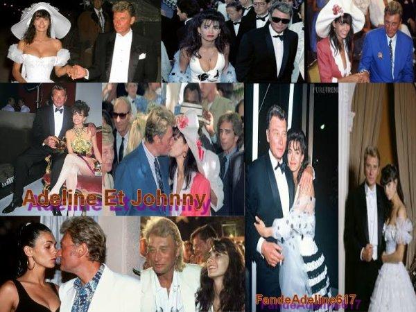 Adeline Avec Johnny Et Adeline Avec Laurent