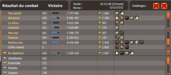 Notre premier Obsidiantre réussi (Le 23.05.2011)