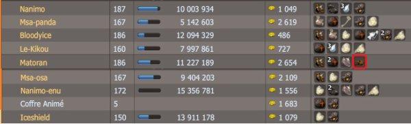 Quelques captures obsidiantres pour XP (Le 05.06.2011)