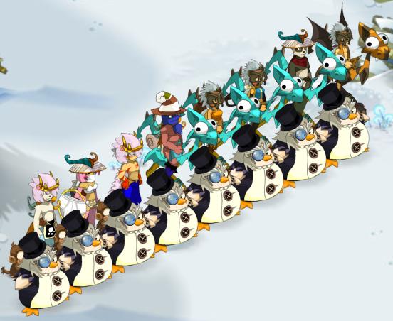 Mr Pinguin, Glourséleste 2.7 et jolie bug :D