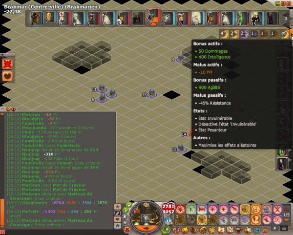 Optimisation de l'équipe, craft, passage de donjons aux nouveaux membres et conclusion de l'hack