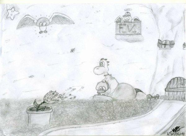 Yoshi mon dessins !!!