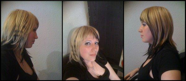 Moi avec mes coupes de cheveux !!!