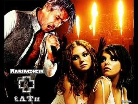 Tatu et Rammstein  / t.A.T.u. vs Rammstein - Not Gonna Get Us (By Brainsick) (2012)