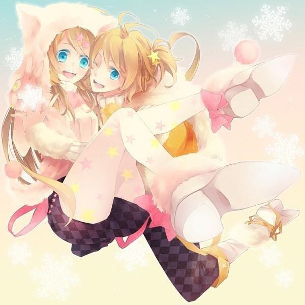 Kagamine Rien and Len *.*