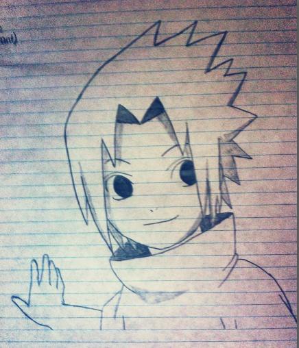 Dessin de Sasuke