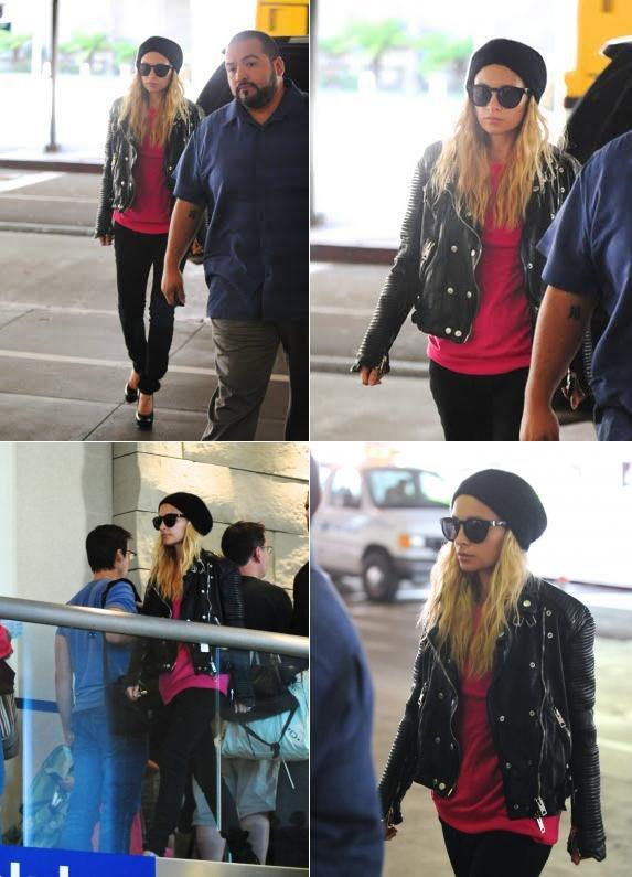 Nicole à l'aéroport direction New York City où on la retrouvera au MET gala  |   1er mai