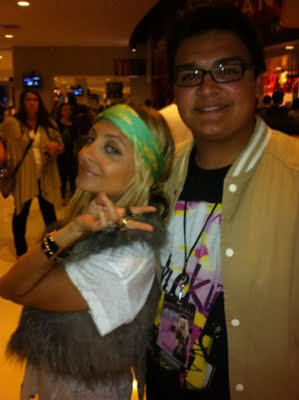 Nicole sortant du concert de Britney Spears  |   20 juin