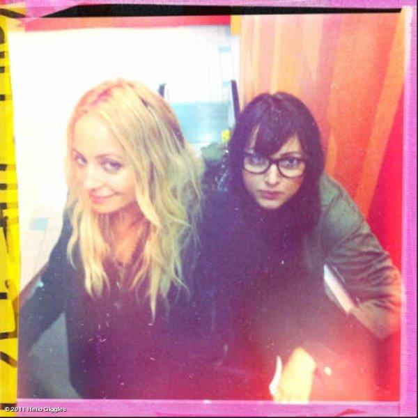 Nicole est allée voir le dernier Harry Potter avec son amie Sophia Rossi