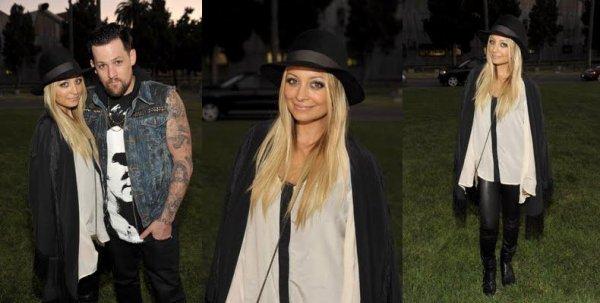 Nicole et Joel (revenu de tournée) étaient hier au Band of outsiders Summer à Los Angeles  |   24 aout