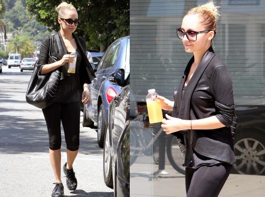 Nicole quitte son cours de sport dans Studio City  |   27 aout