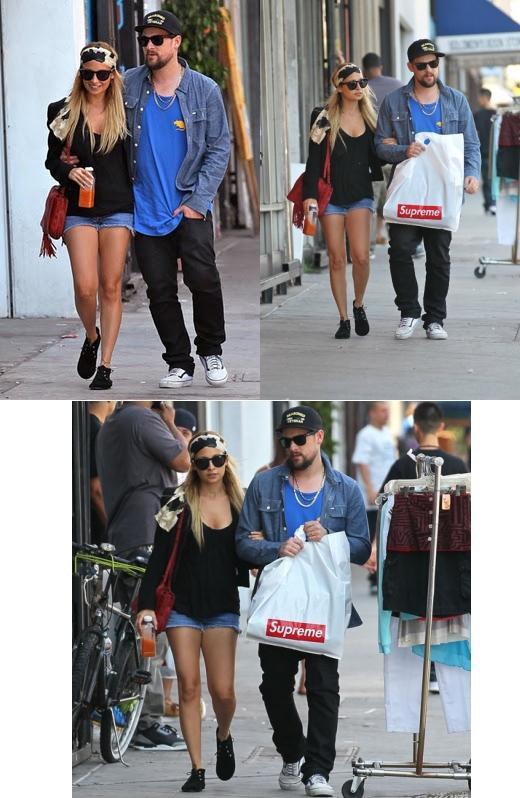 Nicole et Joel en amoureux, de sortie shopping dans L.A.  |   13 septembre