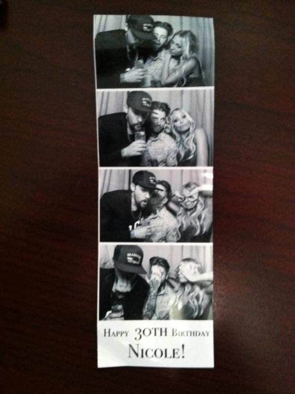Photos de la soirée des 30 ans de Nicole