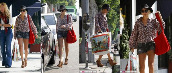 Nicole fait du shopping dans west hollywood  |   28 septembre