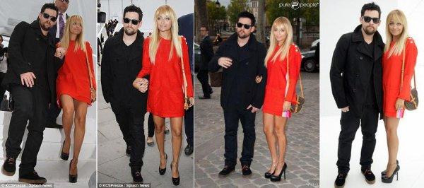 Le couple Madden à la Fashion Week de Paris