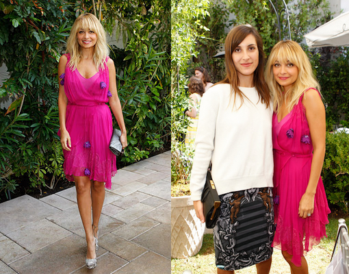 Nicole assiste au Dior Beauty's Garden Party  |   18 octobre