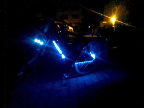 Le vélo tuning de mon homme.