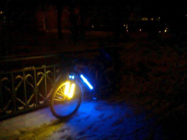Encore le vélo de mon homme.