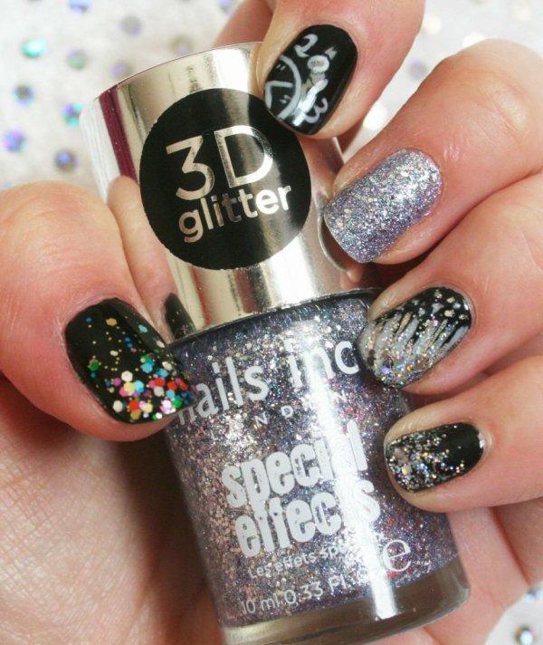 3D glitter