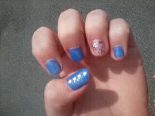 nail art fait par moi