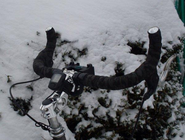 Non, pas vélo...alors brico.