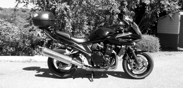 Ma deuxième moto.