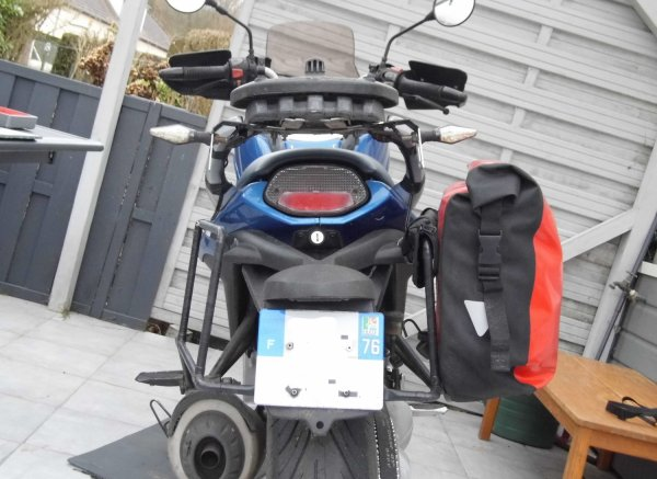 Porte-sacoches pour BMW F650 CS