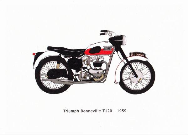 Triumph Bonneville T 120 - 1959