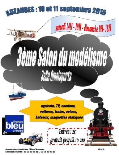AUZANCES  SALON DU MODELISME