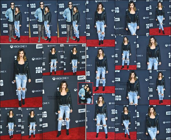 - 22.10.17 ─ Notre .Ashley' Tisdale était présente à la première de la saison 8 de The Walking Dead à Los Angeles ![/s#00000ize]La soirée a fait sensation sur la côte californienne, car la série marquait également le 100ème épisode en sortant le premier de la saison 8 ! Un beau top ! -