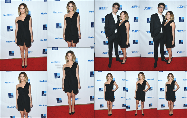 12.05.18 ─ Ashley Tisdale était présente à la soirée des « JDRF 15th Annual Imagine Gala  » située à Beverly Hills ! Ashley à participée a cette soirée caritative en compagnie de son mari, Chris ! J'aime bien la tenue qu'elle porte mais je ne suis pas fan de son make up !