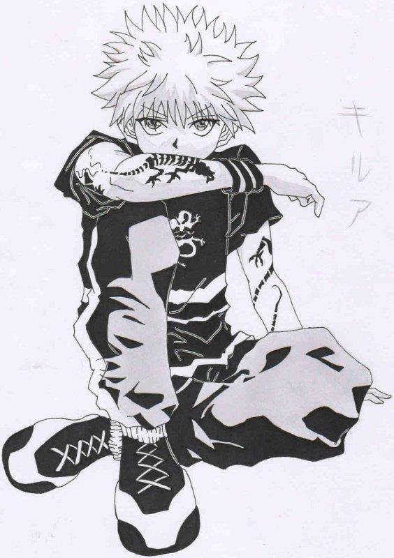 dessin de Kirua